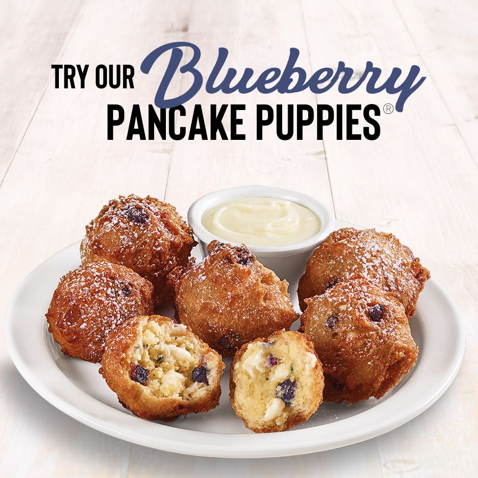 Blueberry Pancake Puppies